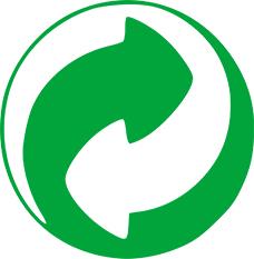 point vert, logo recyclage, récup estrie